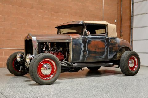 flathead original 1928 Ford Model A hot rod for sale