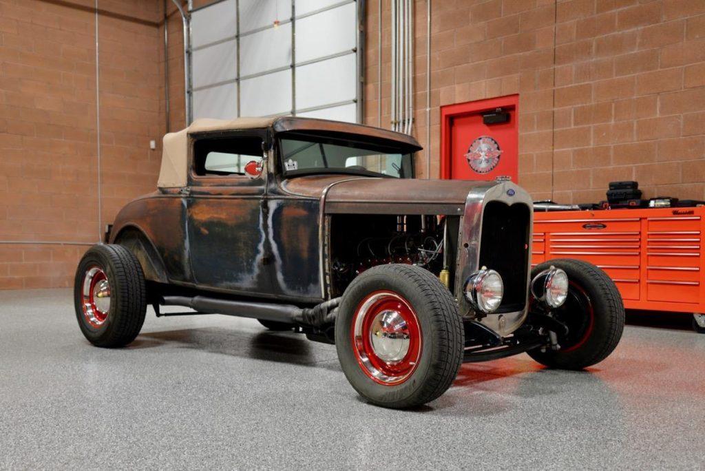 flathead original 1928 Ford Model A hot rod