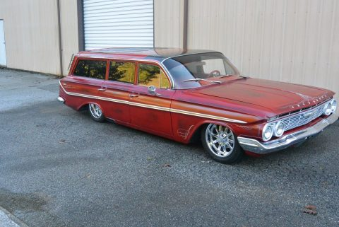 fresh build 1961 Chevrolet Chevy Parkwood Station Wagon Hot Rod for sale