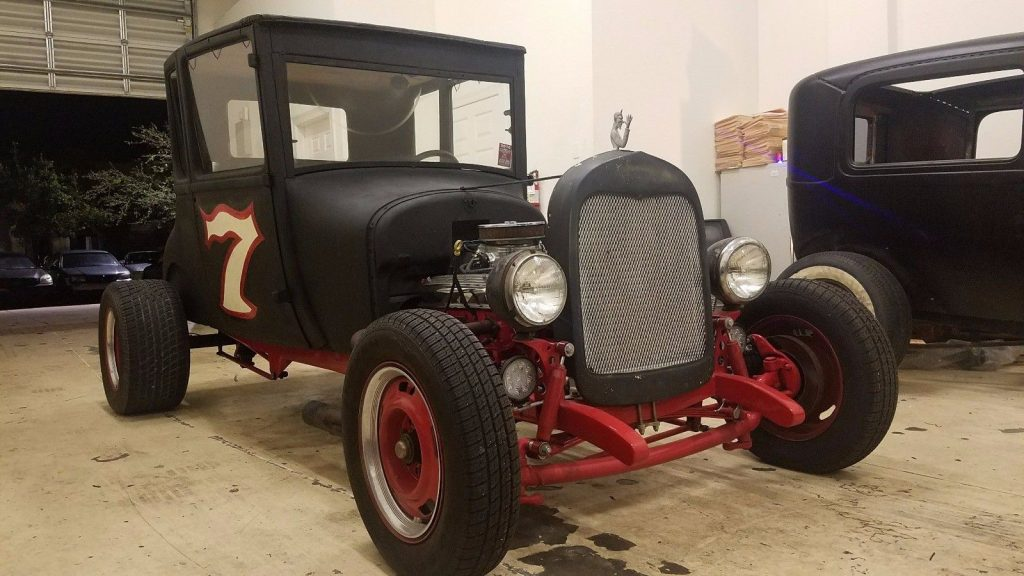 no issues 1927 Ford Model T 5 Window Coupe hot rod