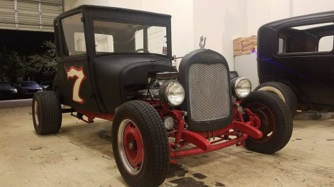 no issues 1927 Ford Model T 5 Window Coupe hot rod for sale