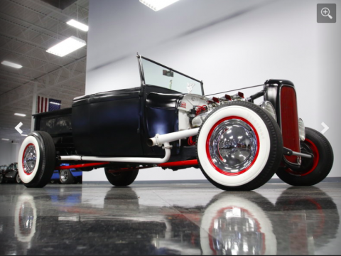 old school classic 1929 Ford Model A hot rod for sale