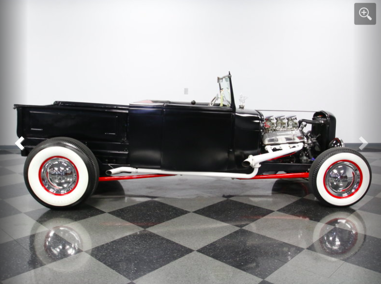 old school classic 1929 Ford Model A hot rod