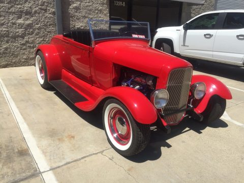 tons of new parts 1929 Ford Model A hot rod for sale