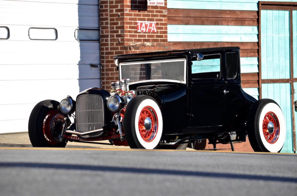 well detailed 1927 Ford Model T hot rod