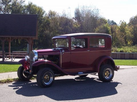 clean 1930 Ford Model A hot rod for sale