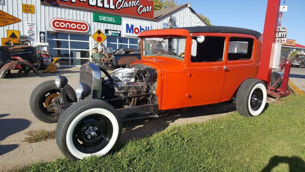 newer built 1930 Ford Model A hot rod