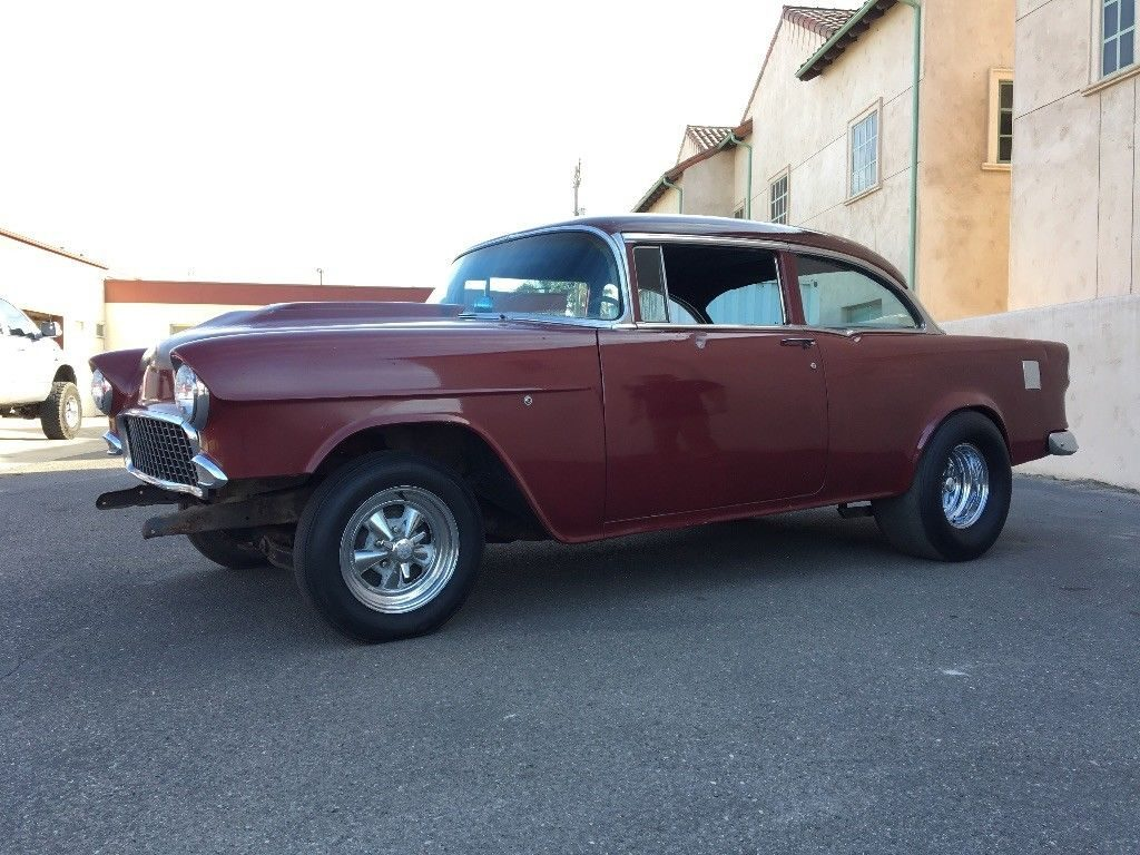 barn find survivor 1955 Chevrolet Bel Air/150/210 hot rod
