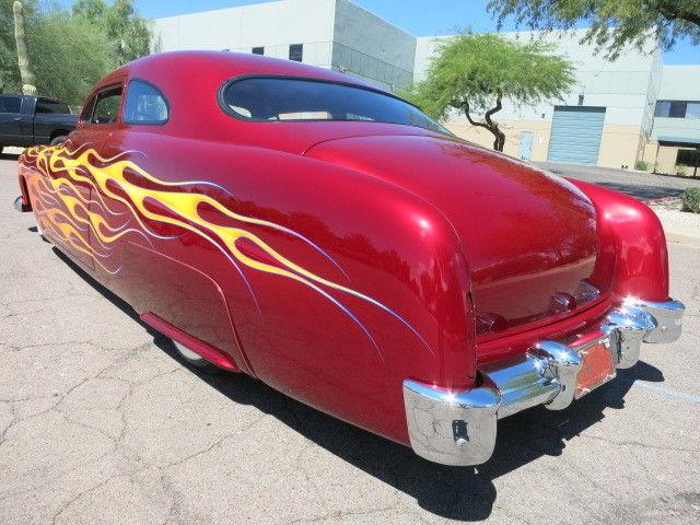 chopped 1951 Mercury Coupe hot rod