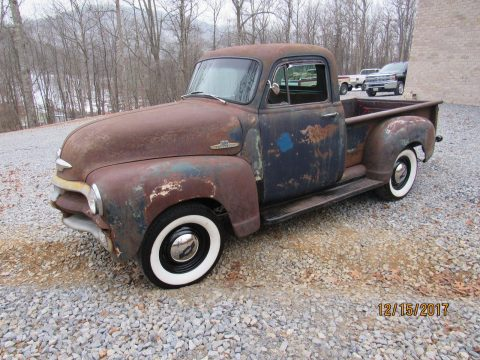 first series 1955 Chevrolet Pickup hot rod for sale