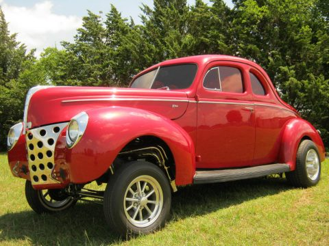 fresh build 1940 Ford Coupe HEMI Gasser!! hot rod for sale