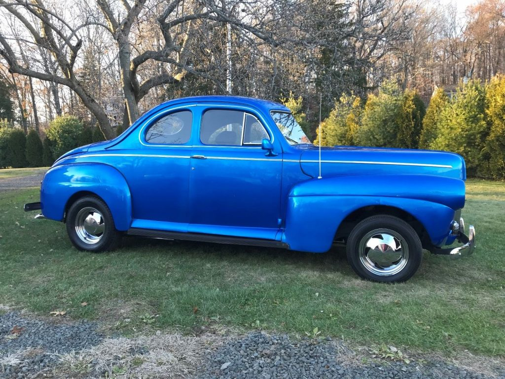 nice and clean 1941 Ford Coupe hot rod