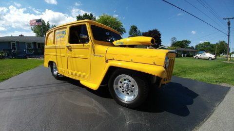 one of a kind 1959 Willys 439 hot rod for sale