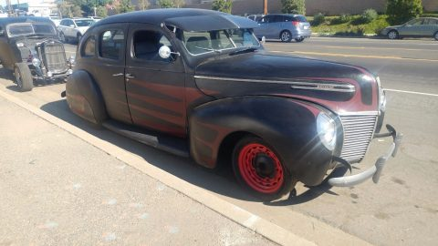 project 1939 Mercury Eight Sedan hot rod for sale