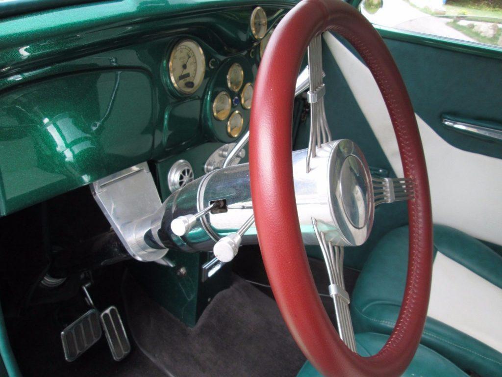 very sharp 1935 Dodge Custom hot rod