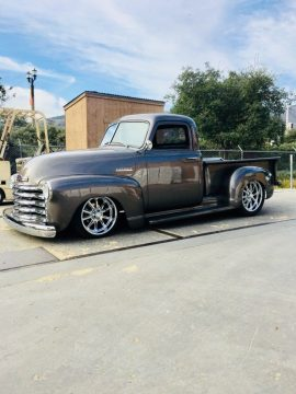 well customized 1952 Chevrolet Pickups hot rod for sale