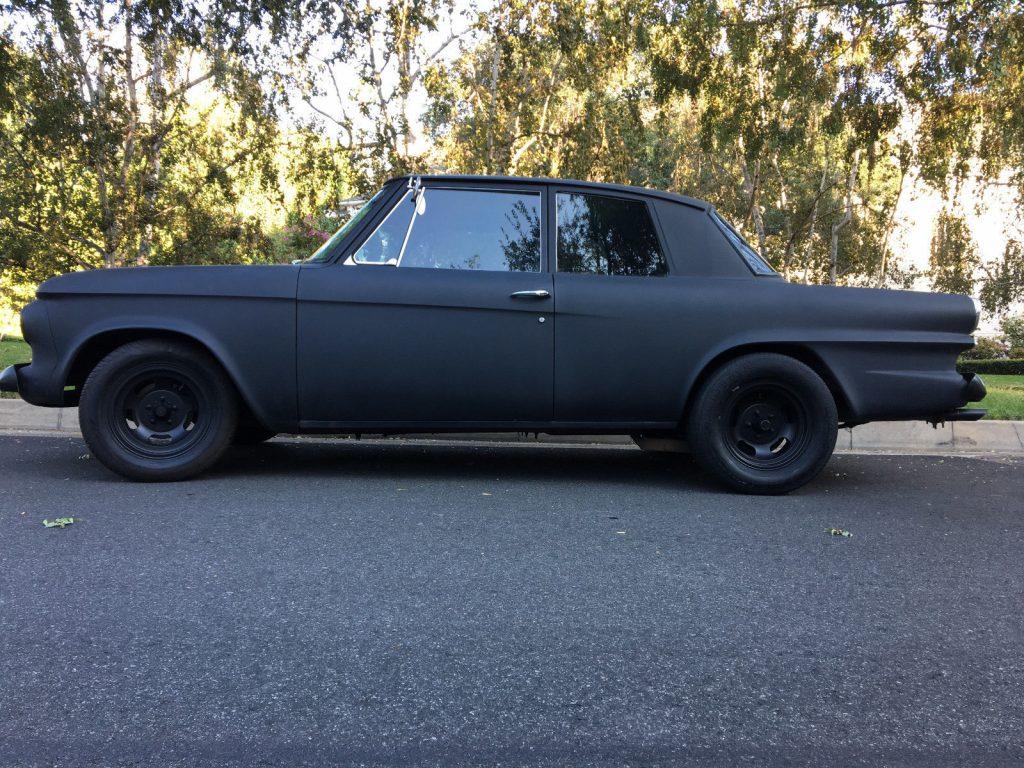 blacked out 1963 Studebaker Lark Hot Rod