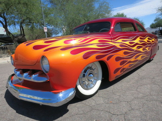 completely restored 1951 Mercury Coupe hot rod