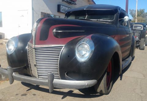 great potential 1939 Mercury Eight hot rod for sale
