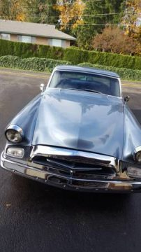 long restoration 1955 Studebaker Commander hot rod for sale