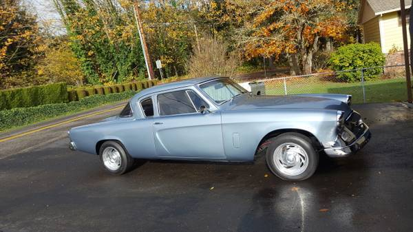 long restoration 1955 Studebaker Commander hot rod