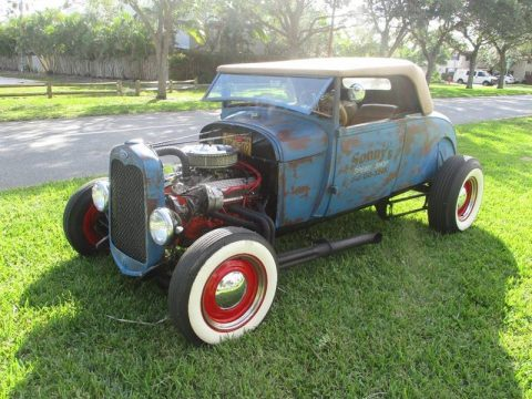 nice patina 1930 Ford ROADSTER hot rod for sale