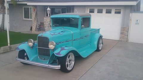 nicely built 1931 Ford Pickups FLAMES hot rod for sale