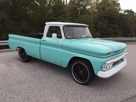 rust free 1965 GMC 1000 Fleetside hot rod for sale
