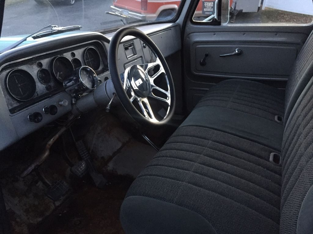 rust free 1965 GMC 1000 Fleetside hot rod
