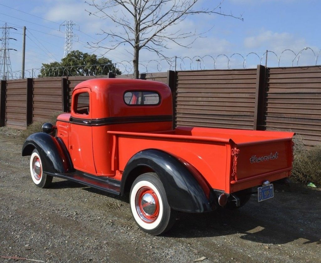 very beautiful 1937 Chevrolet Pickups hot rod