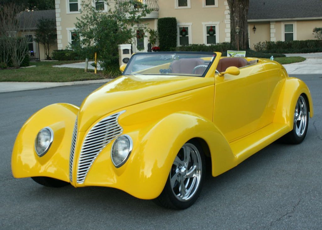 very low mileage 1937 Ford Roadster hot rod