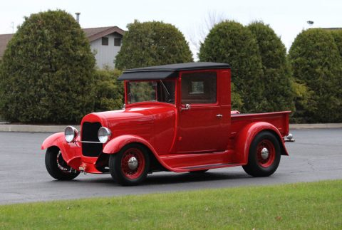 classy 1928 Ford Model A hot rod for sale