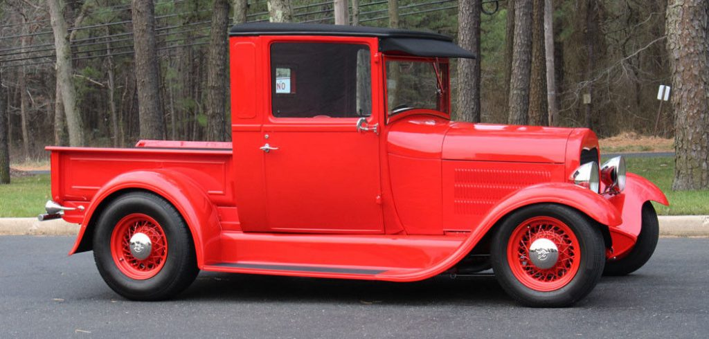 classy 1928 Ford Model A hot rod