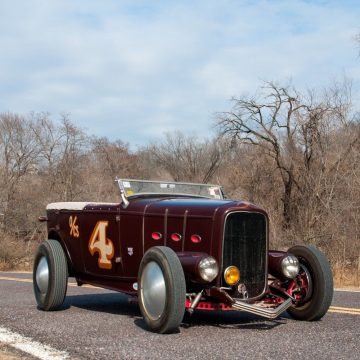 good old days 1932 Ford Deluxe Phaeton Hotrod for sale