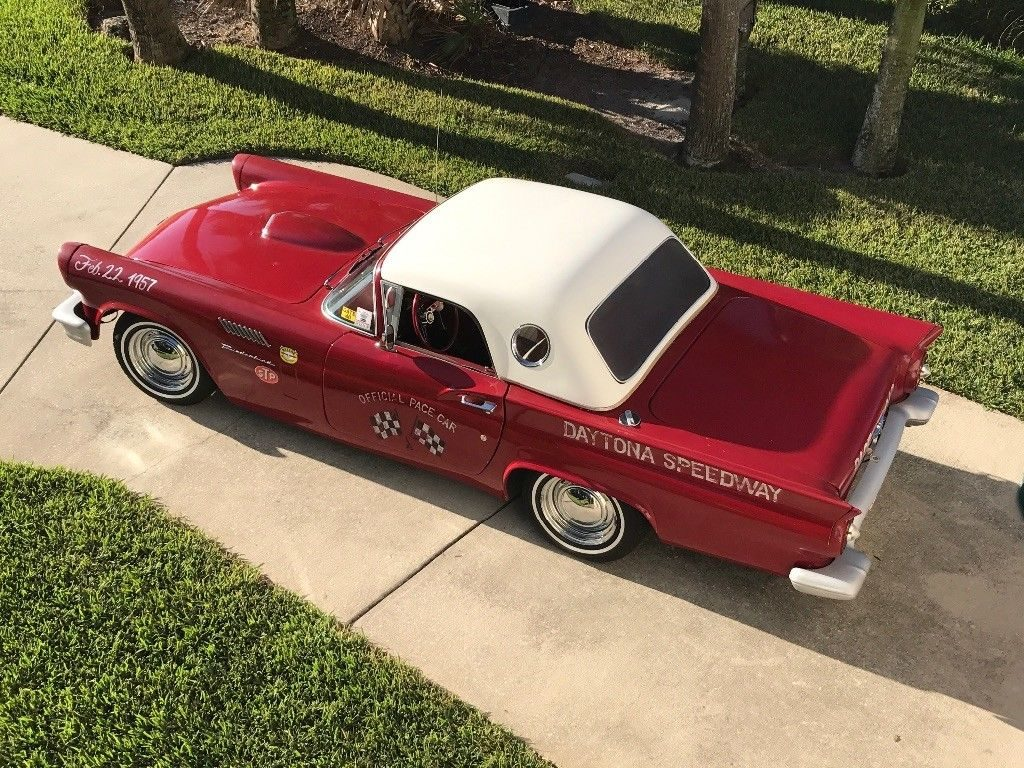 mustang frame 1957 Ford Thunderbird hot rod