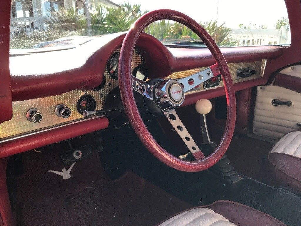 mustang frame 1957 Ford Thunderbird hot rod