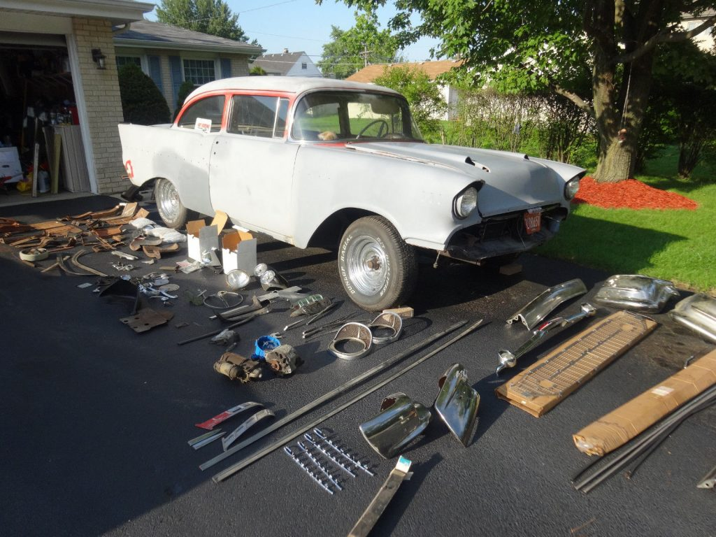 new parts 1957 Chevrolet Bel Air/150/210 hot rod