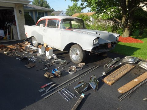 new parts 1957 Chevrolet Bel Air/150/210 hot rod for sale