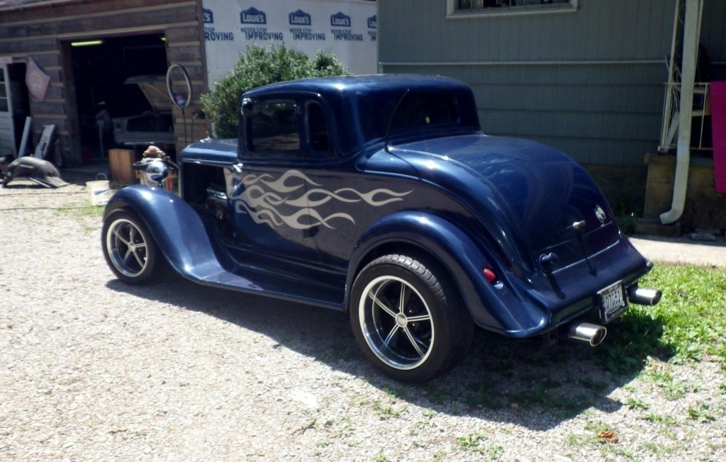 older paint 1933 Plymouth P15 hot rod
