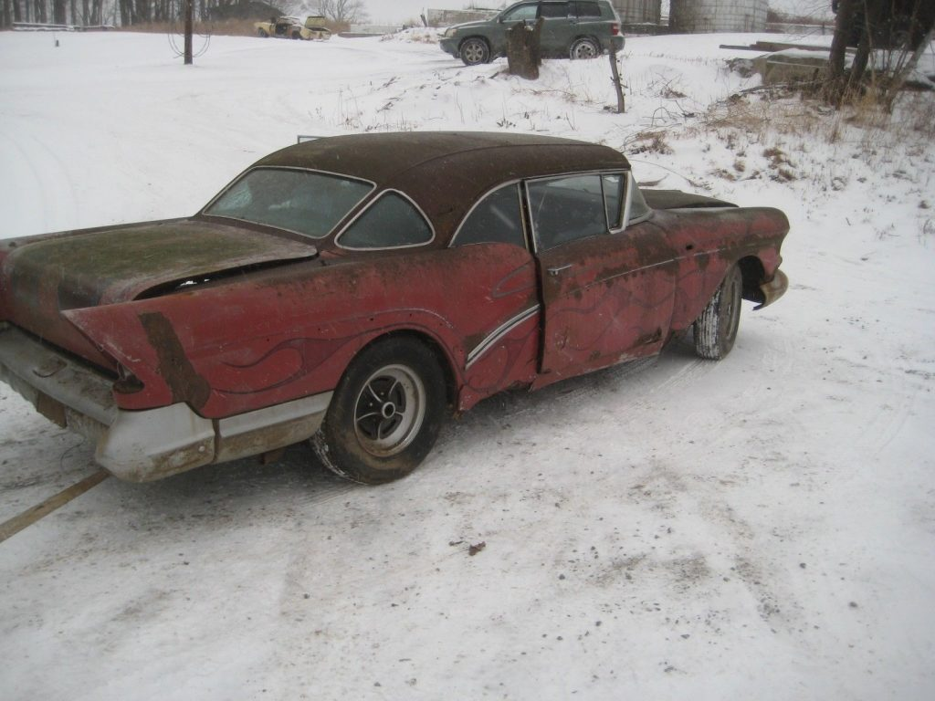 project 1957 Buick Century hot rod