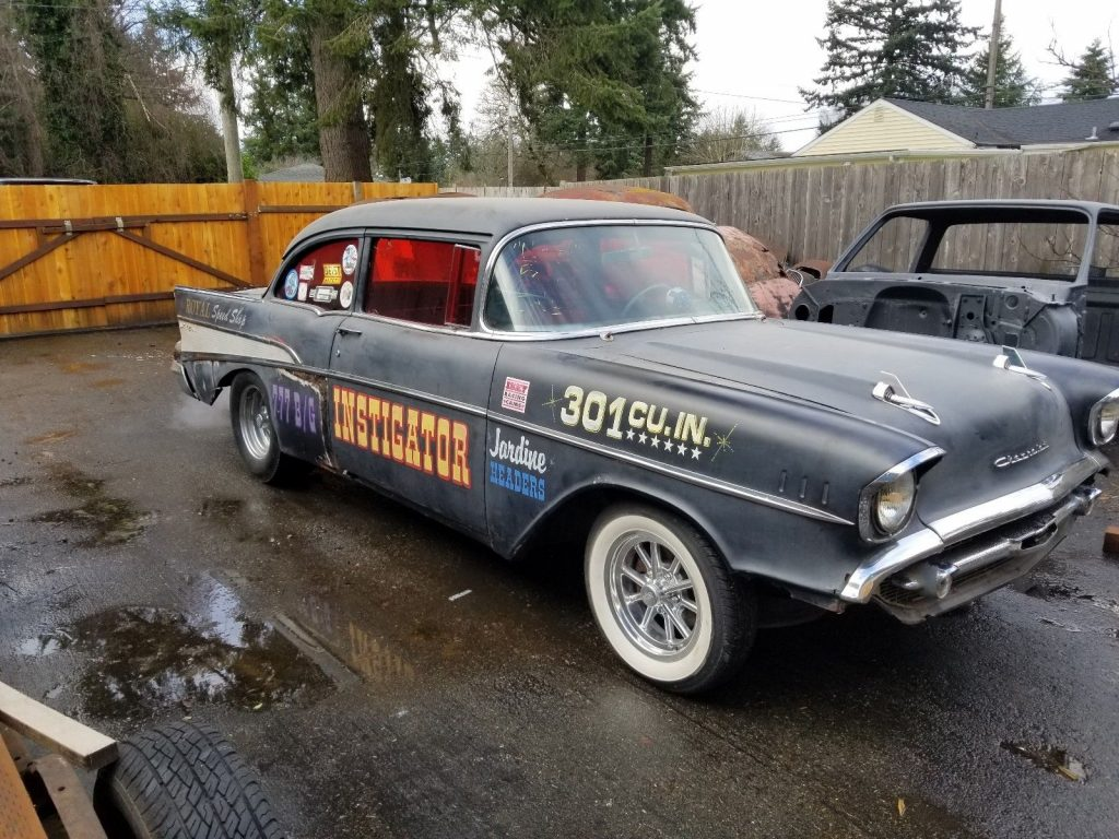 shop car 1957 Chevrolet Bel Air/150/210 hot rod