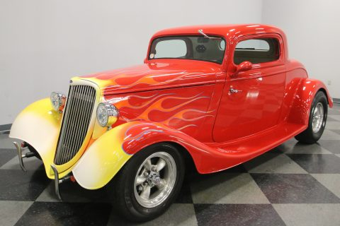 small block powered 1934 Ford 3 Window Coupe for sale