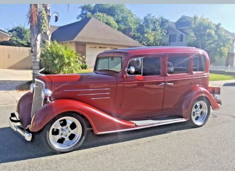 some dents 1934 Chevrolet Master hot rod for sale
