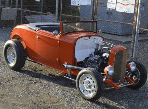 top chopped 1932 Ford 18 Custom Cabriolet hot rod for sale