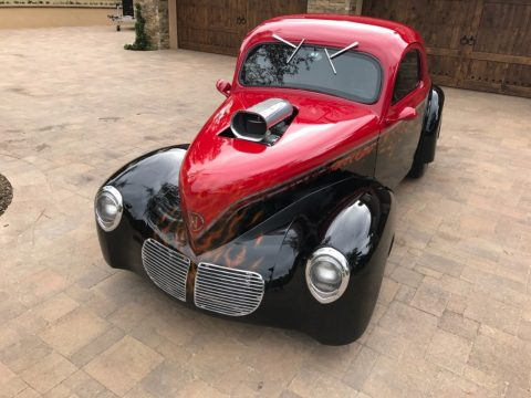 heavily customized 1940 Willys hot rod for sale
