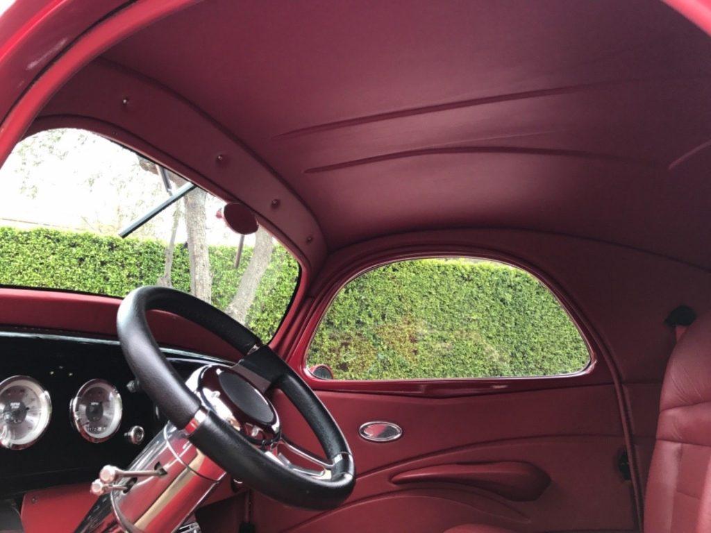 heavily customized 1940 Willys hot rod