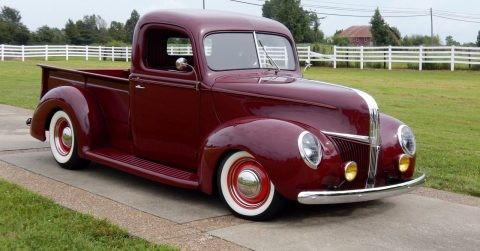 resto mod 1940 Ford hot rod for sale
