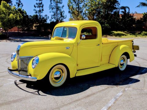 very nice 1940 Ford Pickups flathead hot rod for sale