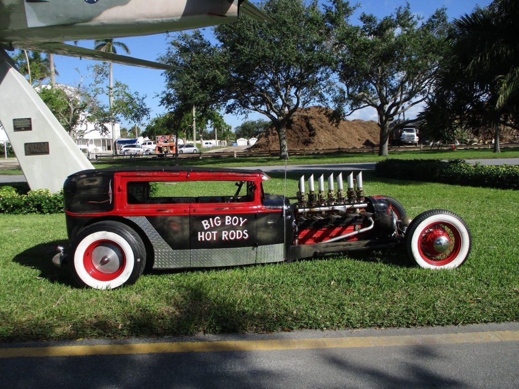 badass 1930 Ford Model A hot rod