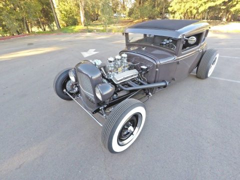 chopped 1931 Ford Model A Coupe hot rod for sale